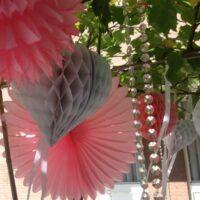 Soft pink-Vintage bruiloftstyling