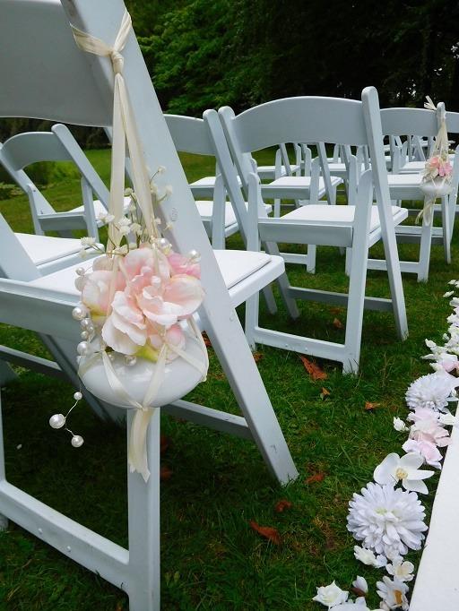 Bruiloftstyling-soft pink