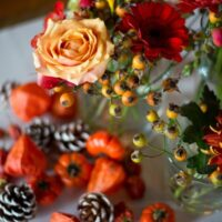 Tafel decoratie autumn styled