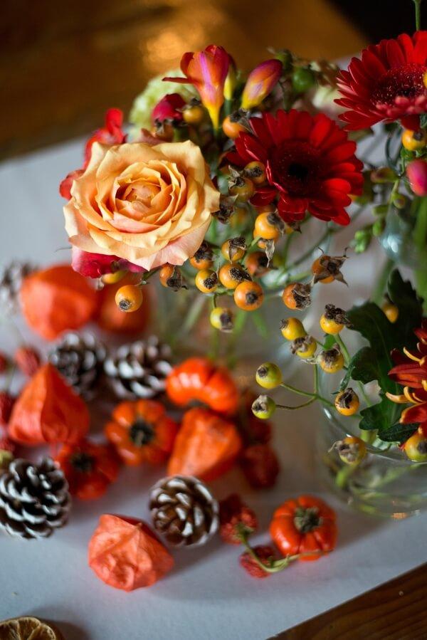 Tafel decoratie autumn styled