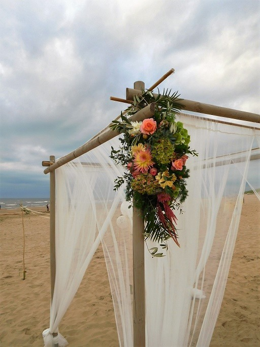 summer seaside wedding bruiloftstyling