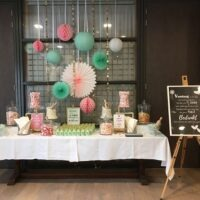 Candytable Bruiloftstyling