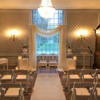 Bruiloft styling decoratie