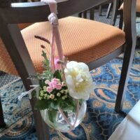 Bruiloft styling Bloemen decoratie