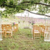 Bruiloft decoratie backdrop