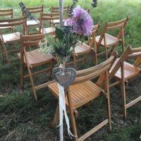 Bruiloft decoratie bloemen decoratie