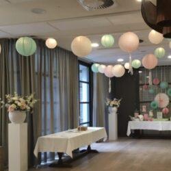 Bruiloft decoratie styling
