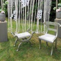 Bruiloftstyling bruiloftdecoratie