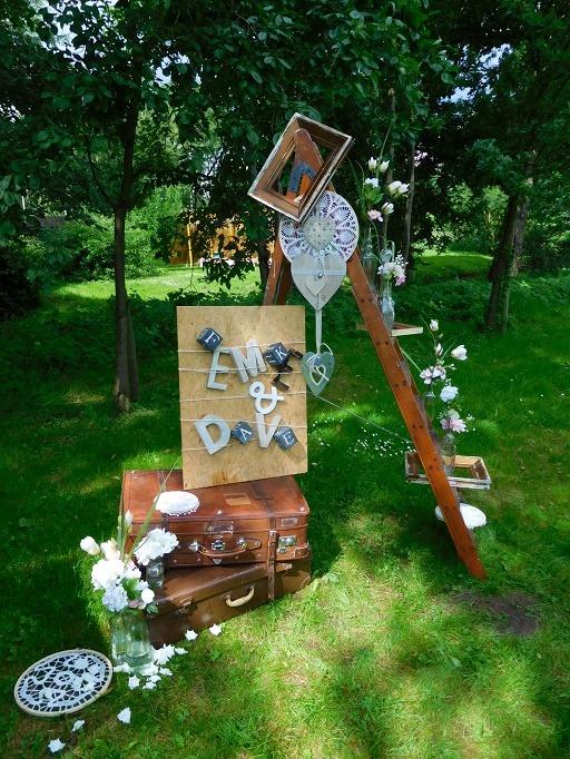 Bruiloftstyling decoratie