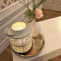 Magical Pastels Bruiloft styling met wind licht