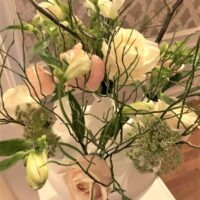 Pastel bloemen styling bruiloftstyling