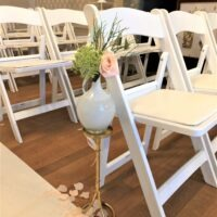 Magical Pastels Ceremonie stoel decoratie