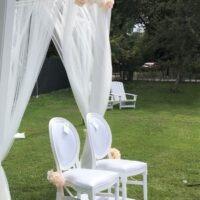 Bruiloft versiering Noord Holland