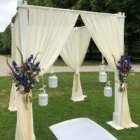 prieel voor bruiloft decoratie