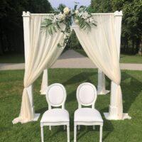 Bruiloftdecoratie voor trouwerij