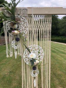 Bohemian bruiloft styling